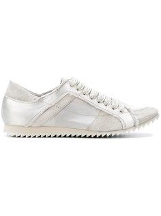 кроссовки с необработанными краями Pedro Garcia