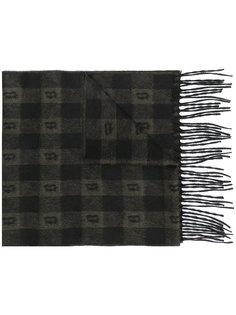 шарф с принтом Brioni