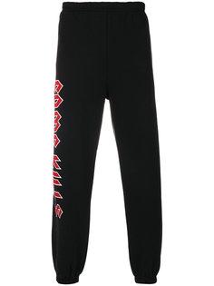 спортивные брюки с принтом логотипа Adaptation