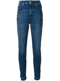 брюки скинни с высокой талией Alexander McQueen