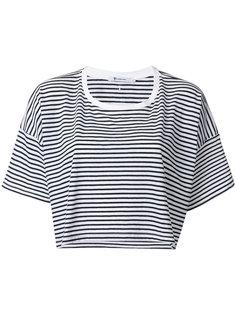 футболка с приспущенными плечами T By Alexander Wang