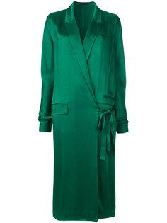 платье с запахом на одну сторону Haider Ackermann