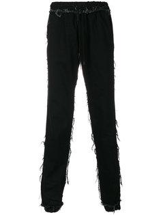 брюки с бахромой Andrea Crews