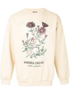 толстовка с цветочным принтом Andrea Crews