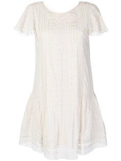 кружевное расклешенное платье Diesel