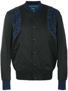 джинсовая куртка бомбер Diesel