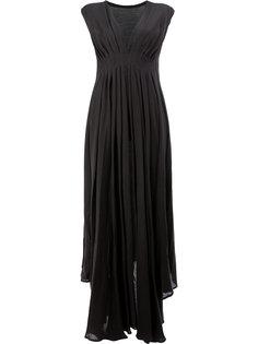 драпированное платье Ann Demeulemeester