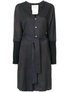 платье-рубашка с V-образным вырезом  Stephan Schneider