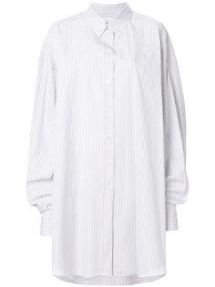 свободная рубашка в полоску  Maison Margiela