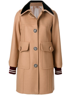 пальто с большими карманами  Nº21