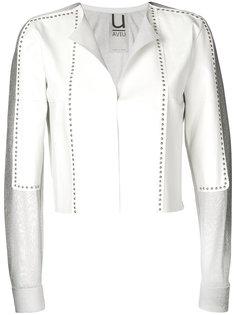 укороченная куртка с заклепками Aviù