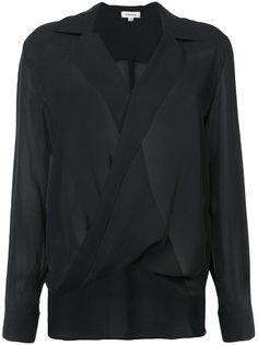 драпированная блузка Lagence