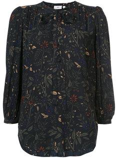 блузка с цветочным принтом Ag Jeans
