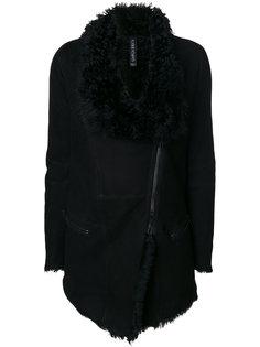 куртка на молнии с асимметричным подолом Giorgio Brato