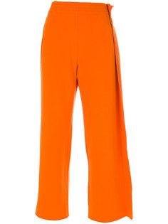 расклешенные спортивные брюки Mm6 Maison Margiela