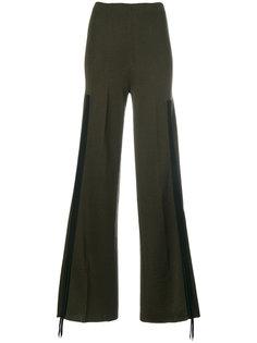трикотажные брюки палаццо Circus Hotel