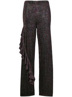 брюки с блестками и оборками Circus Hotel
