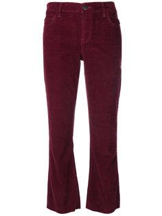 укороченные вельветовые брюки  Current/Elliott
