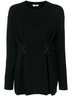 кашемировый свитер с круглым вырезом  Fendi