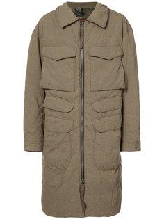 пальто с накладными карманами Ziggy Chen