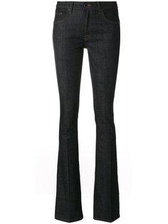джинсы клеш с необработанным краем  Victoria Victoria Beckham