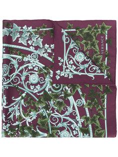 шарф с принтом Edera Versace
