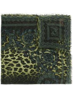 шарф с рисунком Wild Baroque Versace