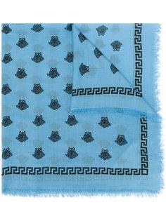 шарф с принтом Medusa Versace