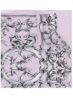 шарф с рисунком Heritage Barocco Versace