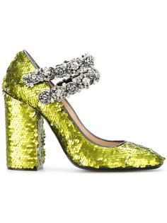 декорированные туфли с пайетками Nº21