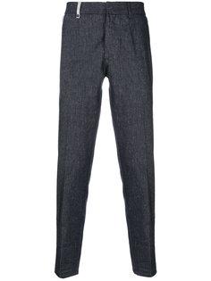 текстурированные брюки Al Duca D'Aosta 1902