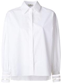 классическая приталенная рубашка  Fendi