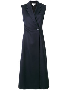 строгое платье миди  Maison Margiela