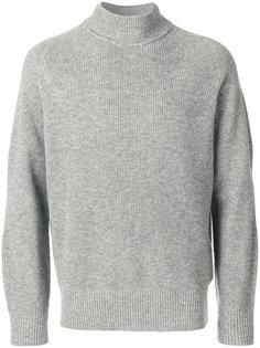 свитер плотной вязки Sacai