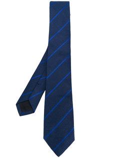 классический полосатый галстук Versace