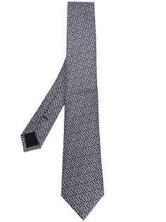 галстук с классической вышивкой Versace