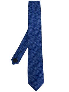 классический галстук с вышивкой Versace