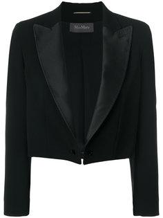 укороченный приталенный пиджак Max Mara
