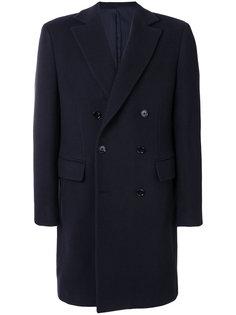 классическое двубортное пальто Mp  Massimo Piombo