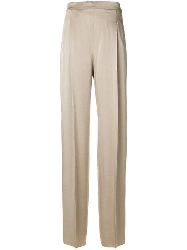 расклешенные классические брюки Max Mara
