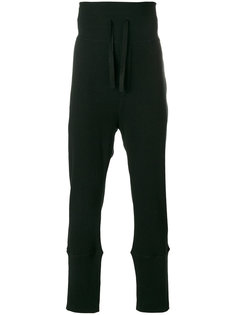 спортивные брюки с эластичным поясом Ann Demeulemeester