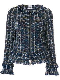 твидовый пиджак с бахромой  Twin-Set