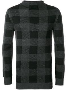 свитер в клетку Lucio Vanotti