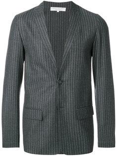 пиджак в тонкую полоску Lucio Vanotti