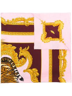 шарф с рисунком Tiger Versace