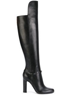 сапоги до колена Versace