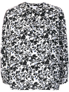 блузка с цветочным принтом Christian Wijnants