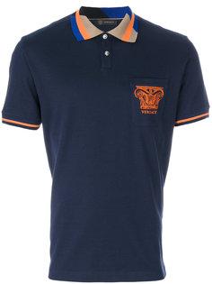 футболка-поло с логотипом Medusa Versace
