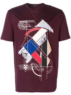 футболка с графическим принтом  Versace