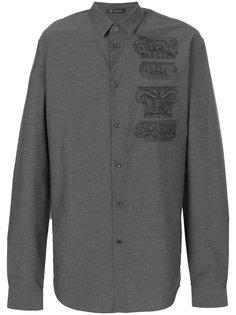 рубашка Capitelli с вышивкой Versace
